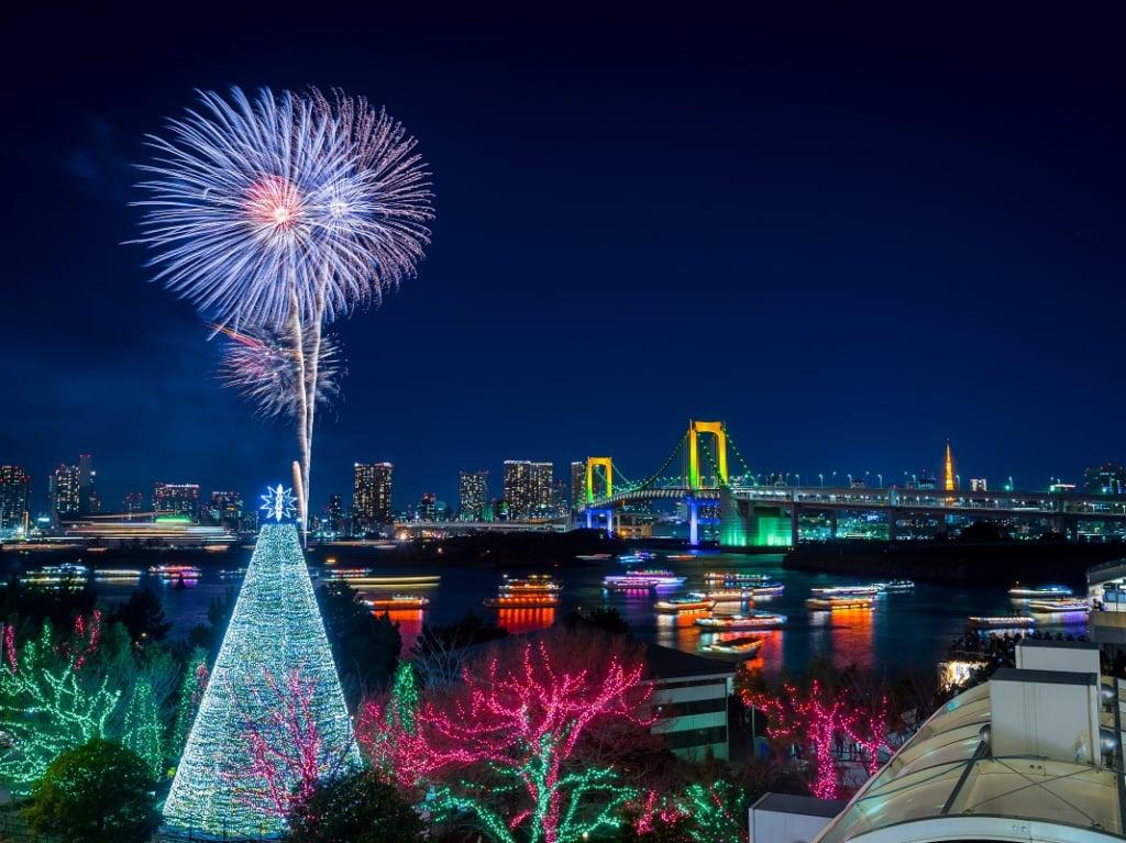 東京台場冬季點燈